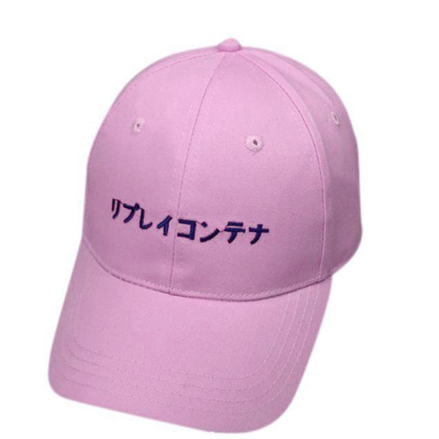 9ca842bb20a Fashion snapback caps men Solid Japanese Letter adjustable baseball hats  for Men Women hip hop baseball cap chapeau homme
