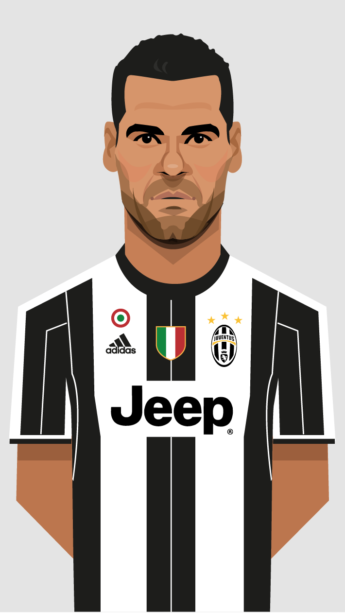 Illustrations for Juventus match day promotions | Juventus ...