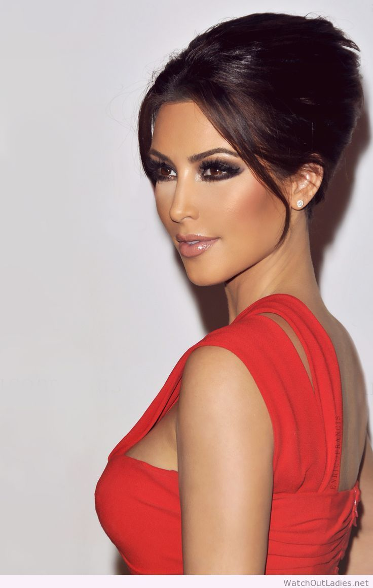 makeup for red dress - google search   cute hairstyles