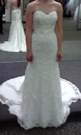 400 Used Monique Luo Wedding Dress Crl538 Size 4 Get A Designer Gown For Much Less On Preownedweddingdresses