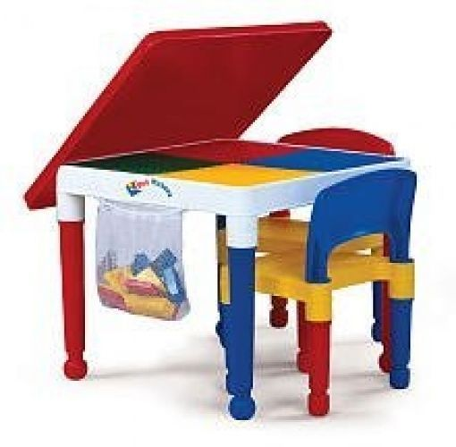 Toddler Kids Children Table Chair Desk Set Play Activity Furniture Storage  New #TotTutors