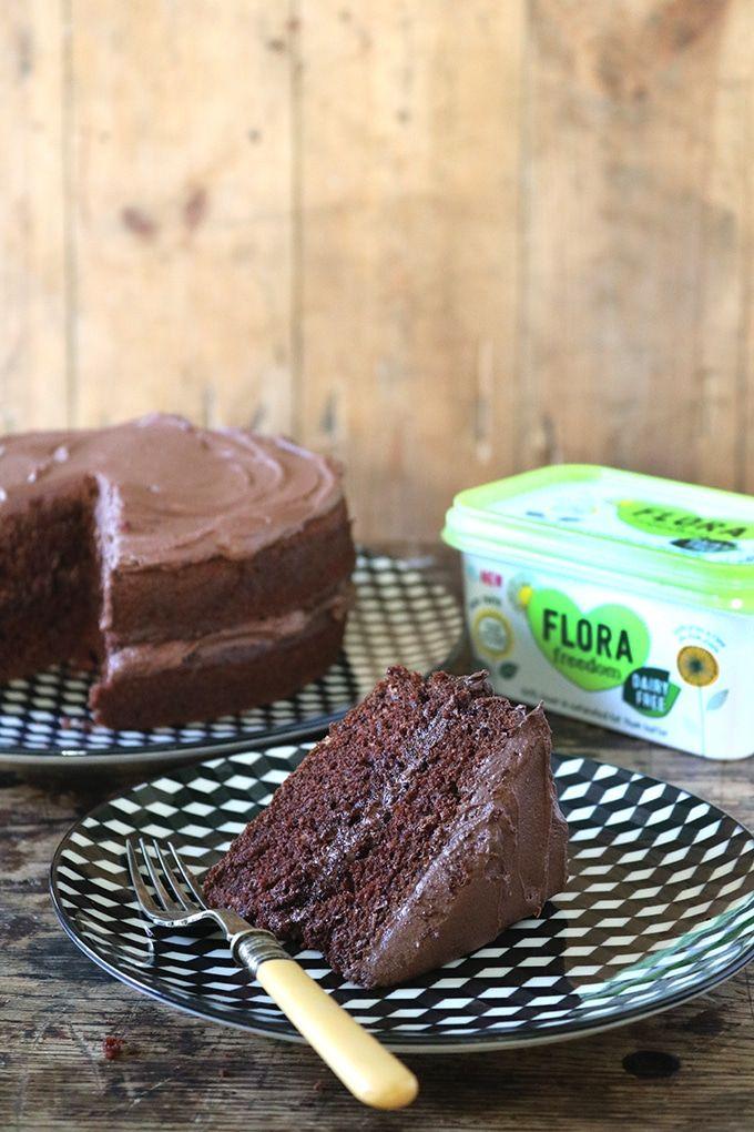 The Best Vegan Chocolate Cake Recipe Vegan Chocolate Cake Vegan Chocolate Vegan Chocolate Cake Easy