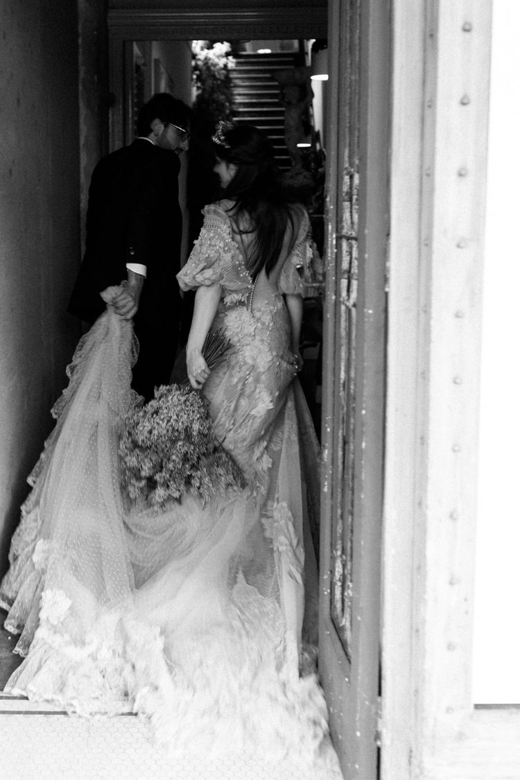 Wedding Photography | Black and White | Lovers | Wedding Reception