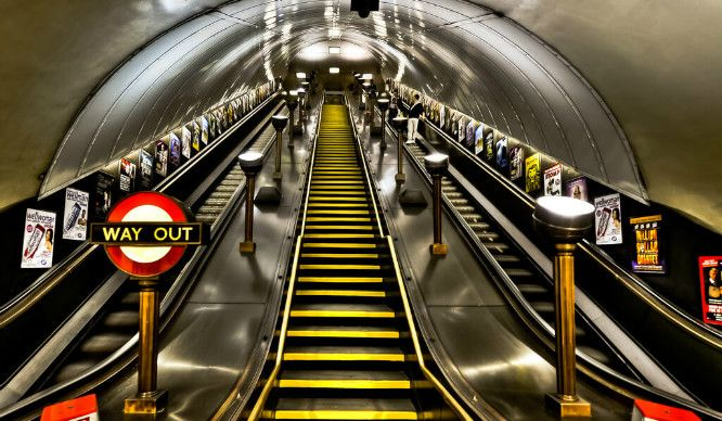 *You'll only know if you've spent half your life getting angry on the tube…like us.