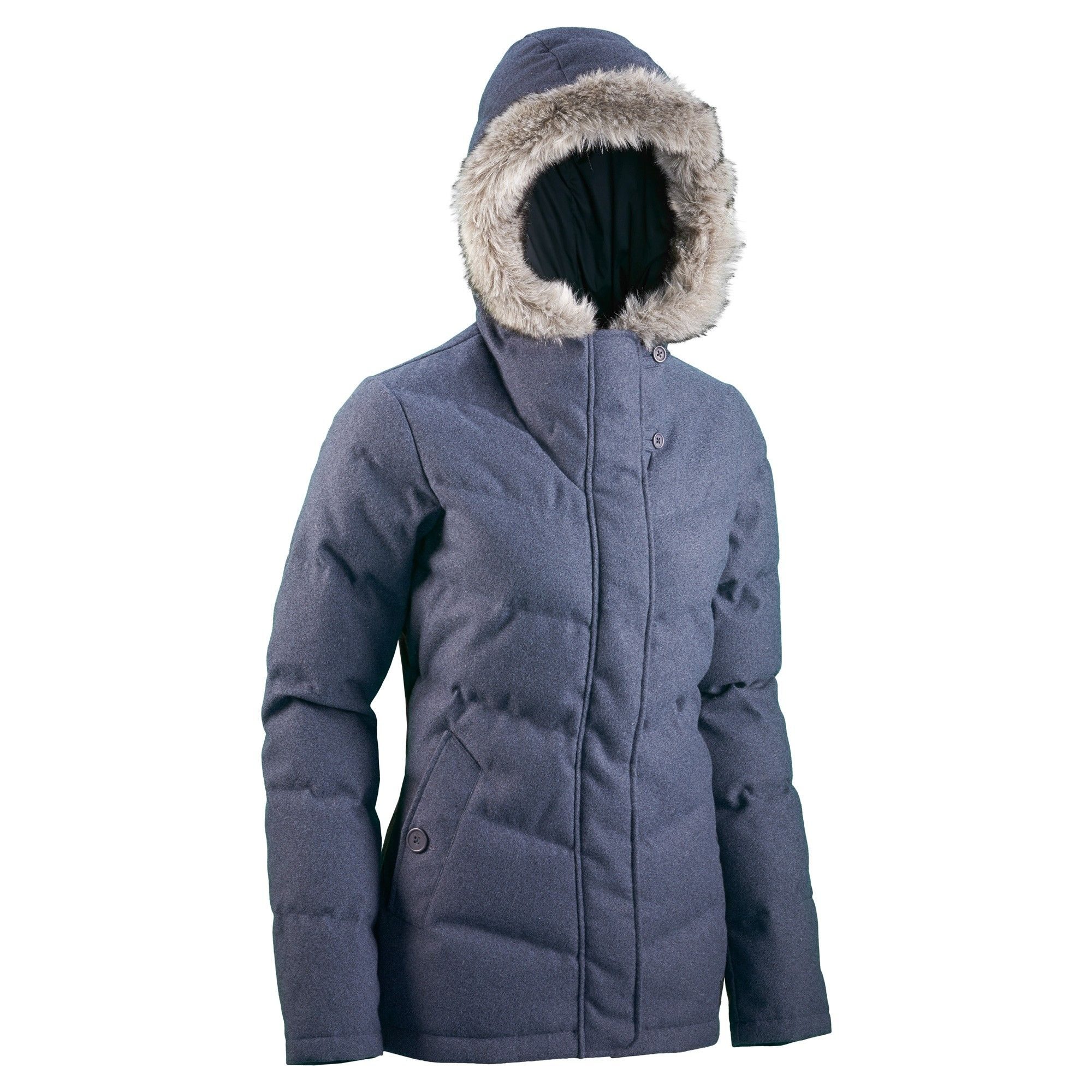 Buy Frisco Women's Hooded Down Jacket - Storm Blue online at ...