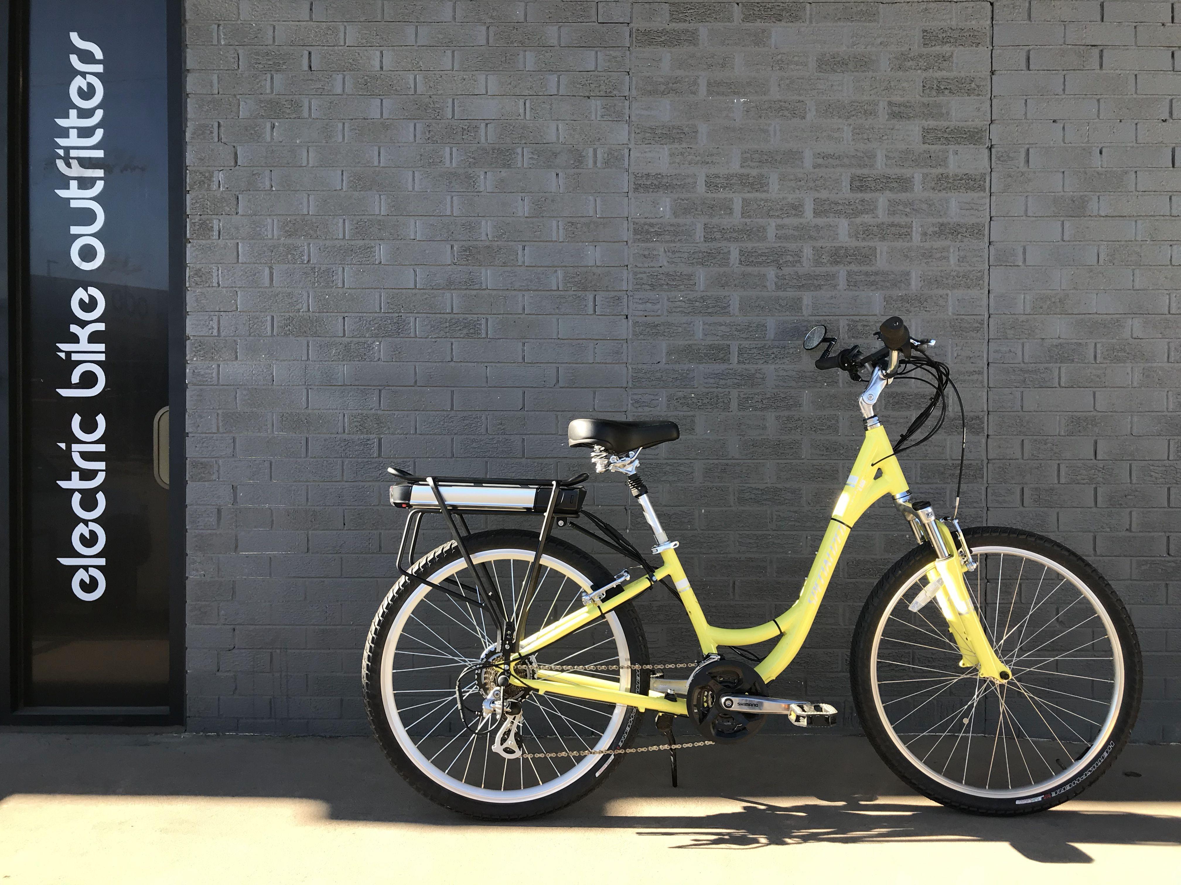 Electric Bike Conversion Using The Ebo Cruiser Kit Electric