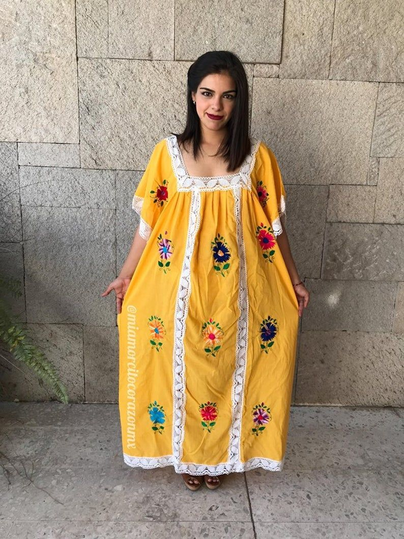 Vintage Mexican Dress 90 S Vestido Mexicano Mexican Party Etsy In 2021 Mexican Dresses Mexican Embroidered Dress Vintage Mexican Dress [ 1059 x 794 Pixel ]