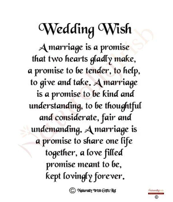 Irish Wedding Day Wish Google Search More