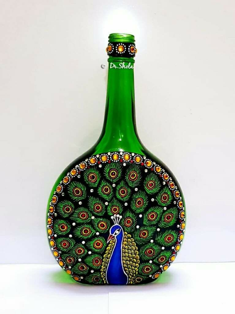 Pin By Kristin Salomon On Bottle Art Bottle Art Glass Bottle Crafts Glass Bottle Diy