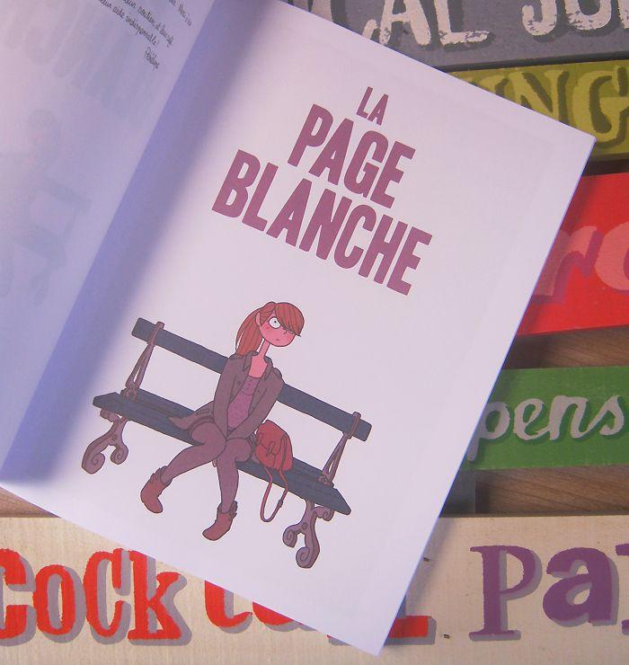 La Page Blanche, de Boulet et Pénélope Bagieu