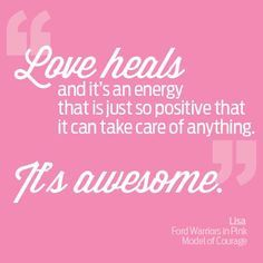 Charmant Love Is Awesome! Love Heals And Itu0027s An Energy That Is Just So Positive Tht