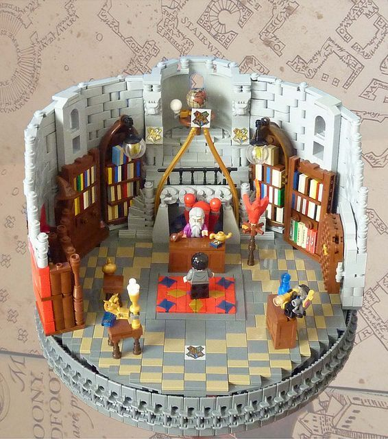 Custom Harry Potter Lego   Dumbledores Office