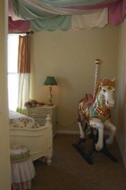 Design a Girl's Dream Bedroom or Nursery With a Carousel ...