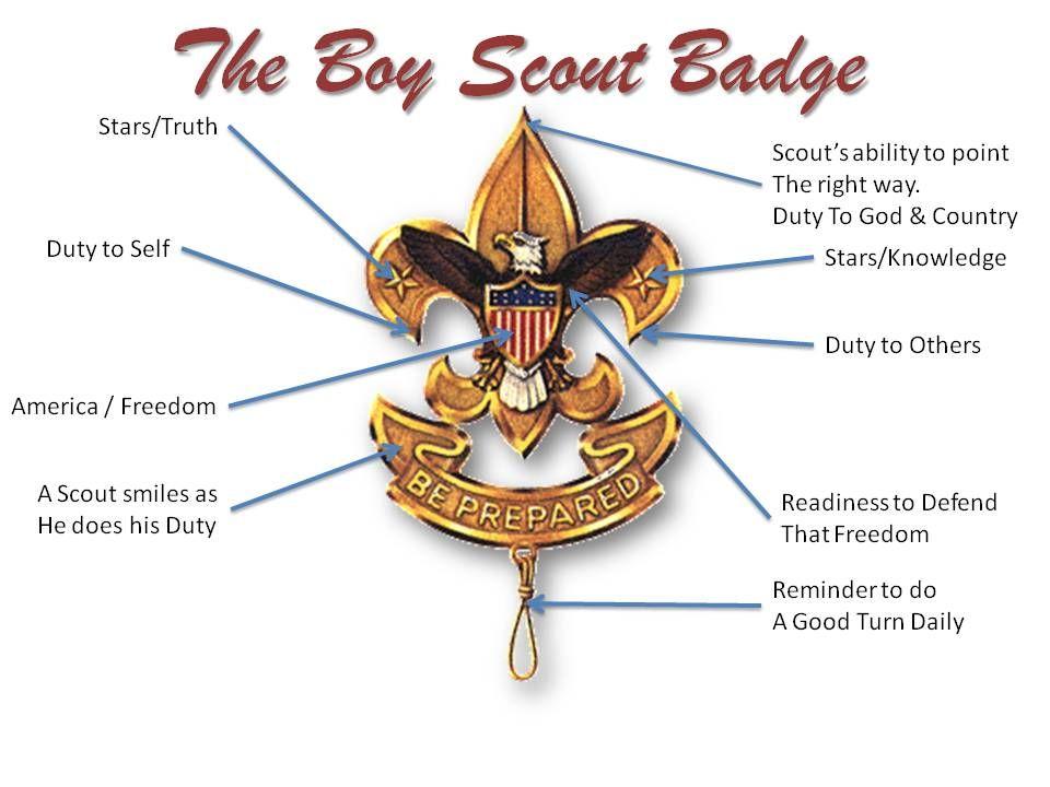The Boy Scout Badge Scouts Boy Pinterest Boy Scout
