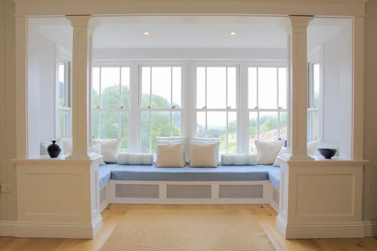 17 Stunning Bay Windows Ideas For Your Sweety Home Window Seat Design Bay Window Seat Diy Window Seat