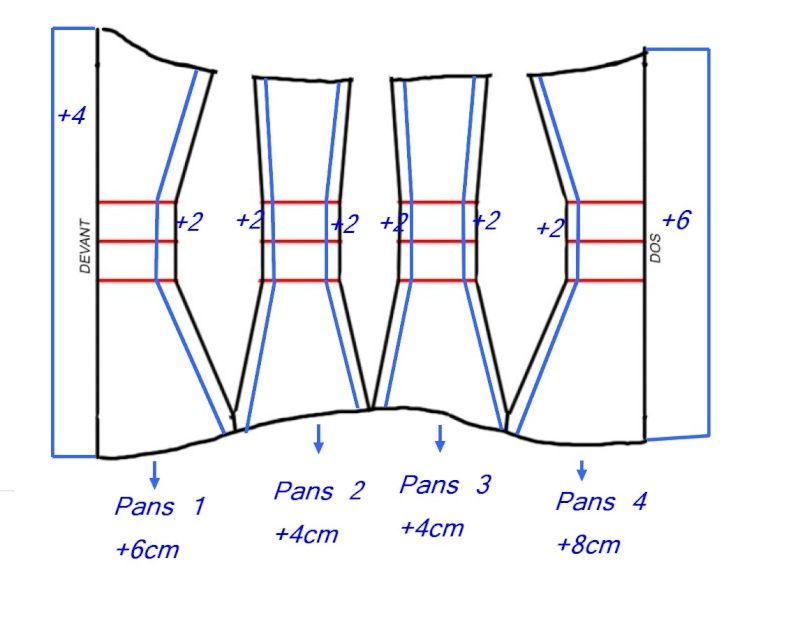 tuto corset serre taille bustier pattern patron diy couture pinterest tuto corset. Black Bedroom Furniture Sets. Home Design Ideas