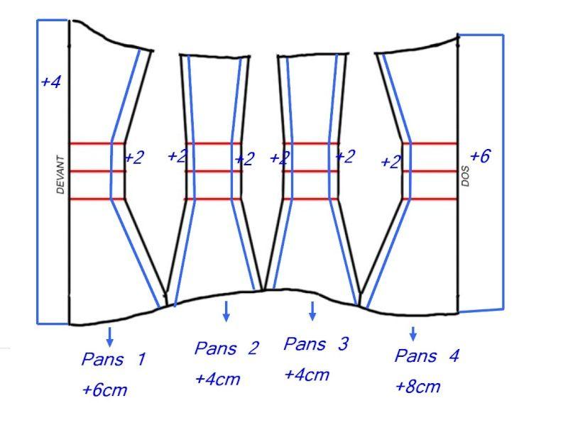 Tuto corset/serre-taille + bustier | inspiration corsets | Pinterest ...