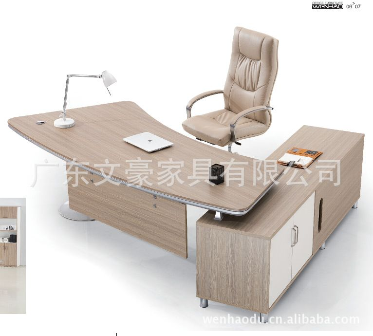 2015 New Arrival Wooden Solid Wood Modern Office Desks Office