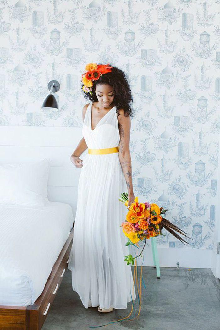 b67640c52 Inspiração Beleza - Penteado Noiva Negra, noiva, beleza, penteado, penteado  de noiva, penteado para noivas negras, noiva negra, blog de casamento,  maquiagem