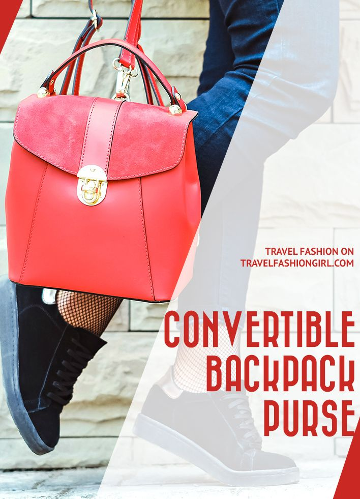 shades of hot new products aliexpress Why We Love A Convertible Backpack Purse for Travel ...