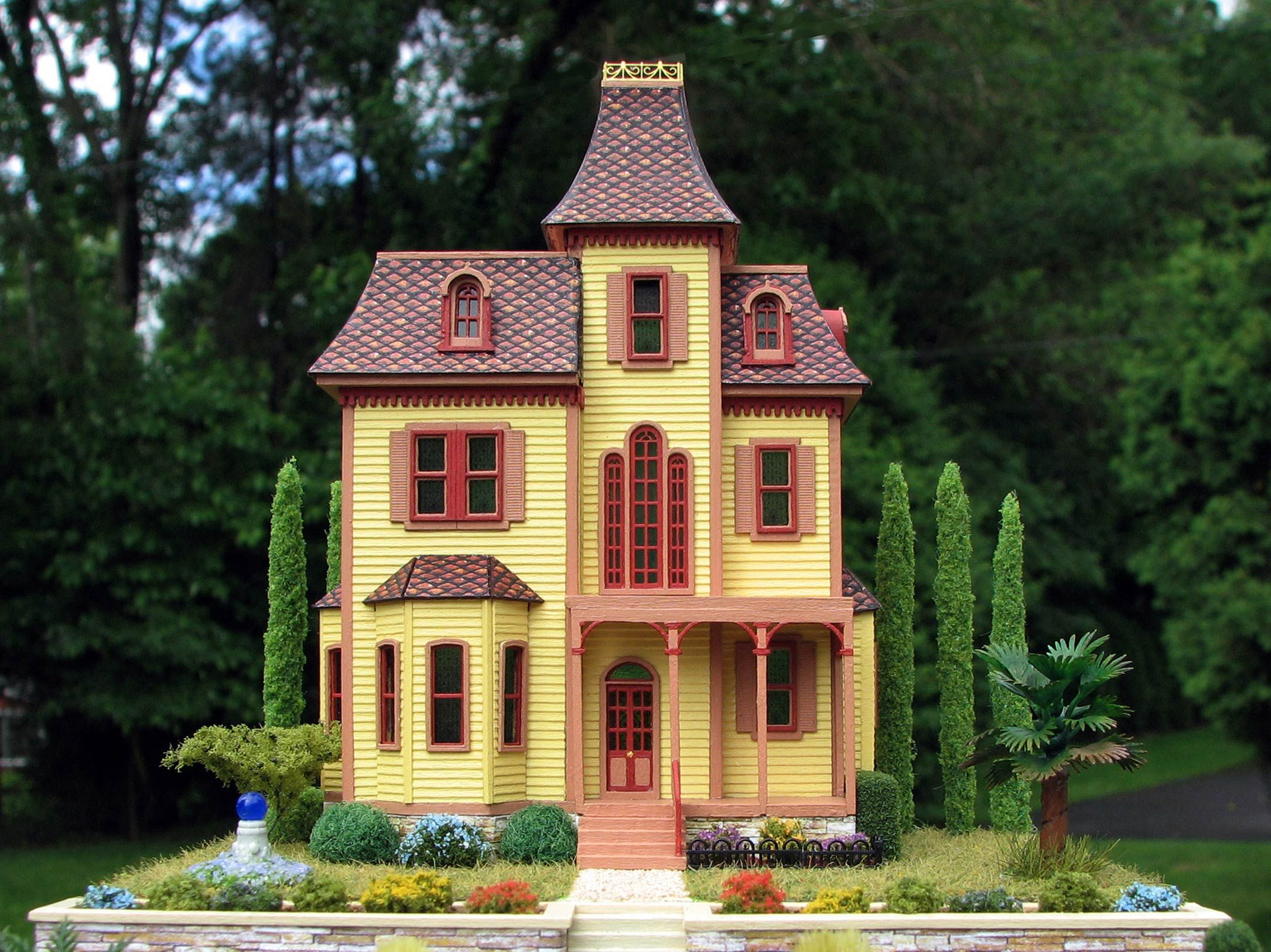Victorian miniature houses - Miniature Houses Victorian Dollhouses Gallery