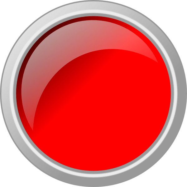 Empty Red Button With Grey Border Buttons Red Red Button