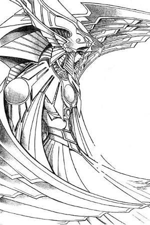 Holactie The Creator Of Light Character Drawings Comic Art Yugioh