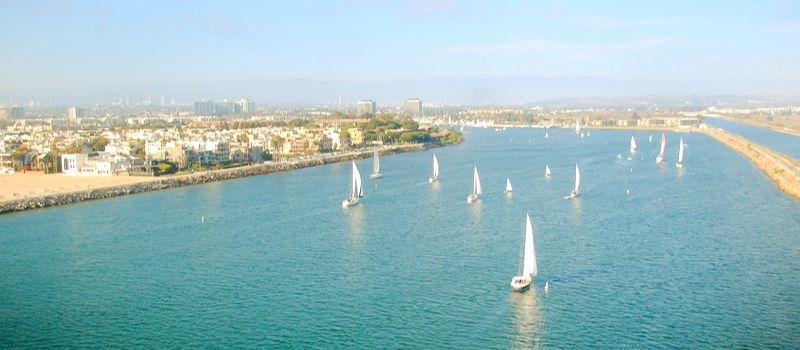 Marina del Rey Photo by Clara Cajaiba