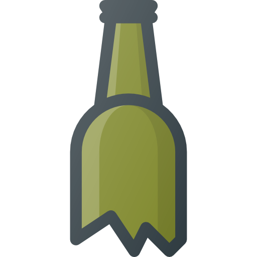 Broken Bottle Free Vector Icons Designed By Those Icons Vector Free Vector Icon Design Free Icons