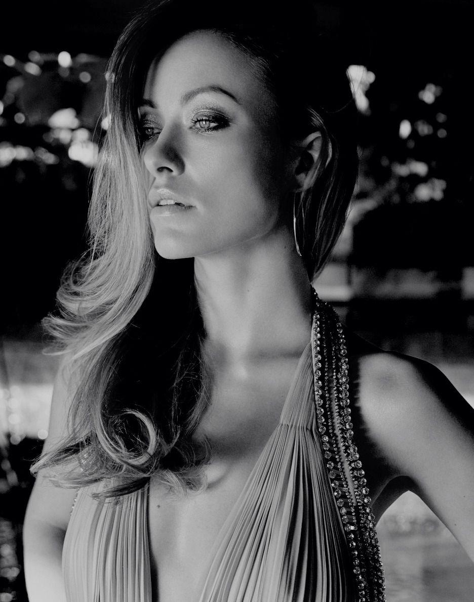 The Queens Of Beauty Olivia Wilde Portrait Beauty