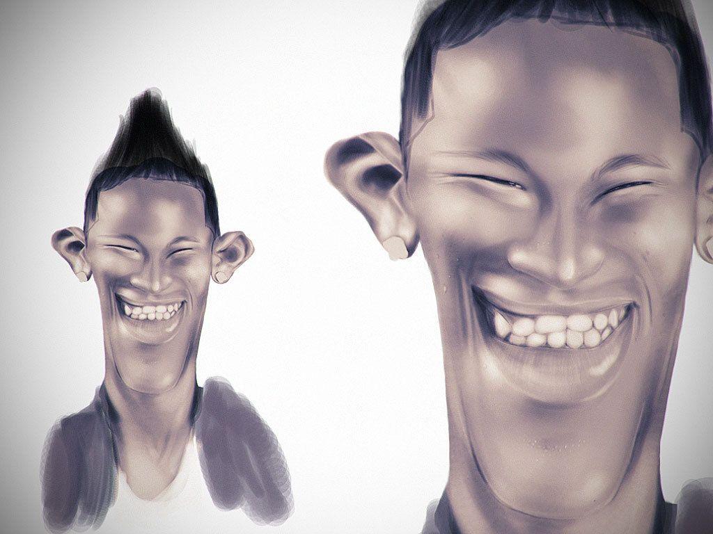 Behance Network :: caricature Neymar jr