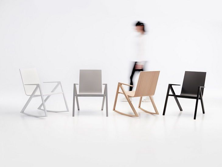 The Felix Chair by Frederic Richard for PER/USE is Contemporary #design trendhunter.com