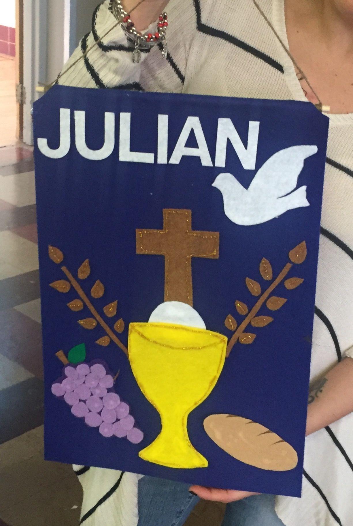 First communion banner!! | First communion banner ...