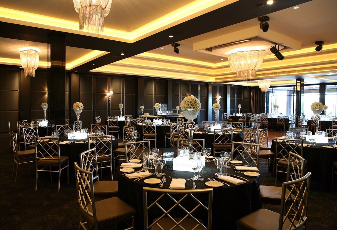 Wedding Receptions Venues Le Montage Sydney Black Table Setting