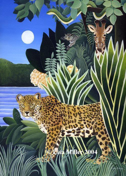 African Jungle ~ Lisa Miller   1ed1554246