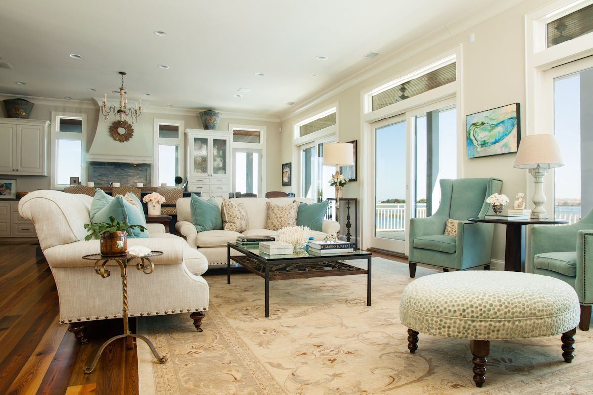 Cozy condo living rooms the intracoastal views seen through the wall of windows are brought