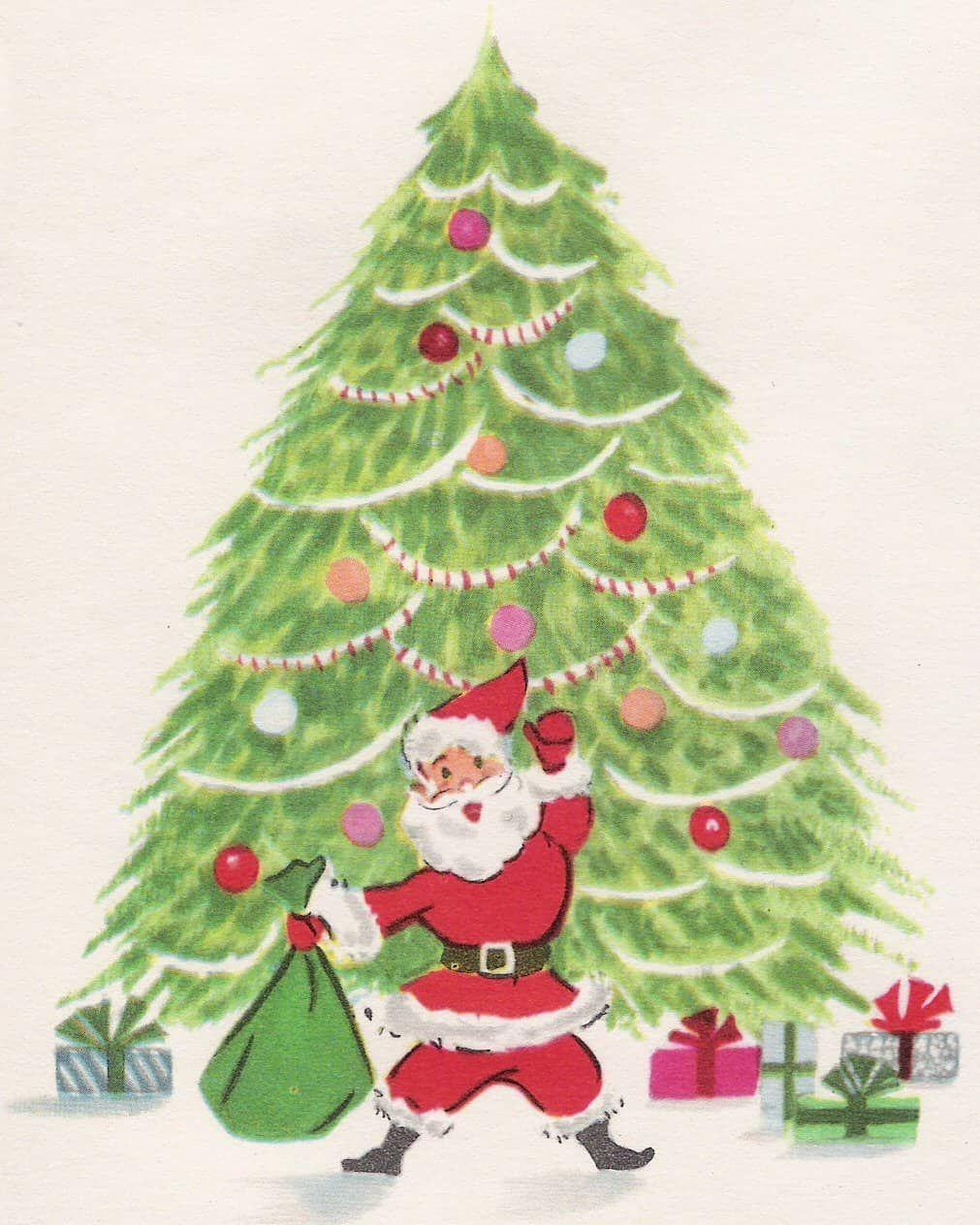 christmas-cards-v1 (10) | Santa | Pinterest | Christmas cards, Cards ...