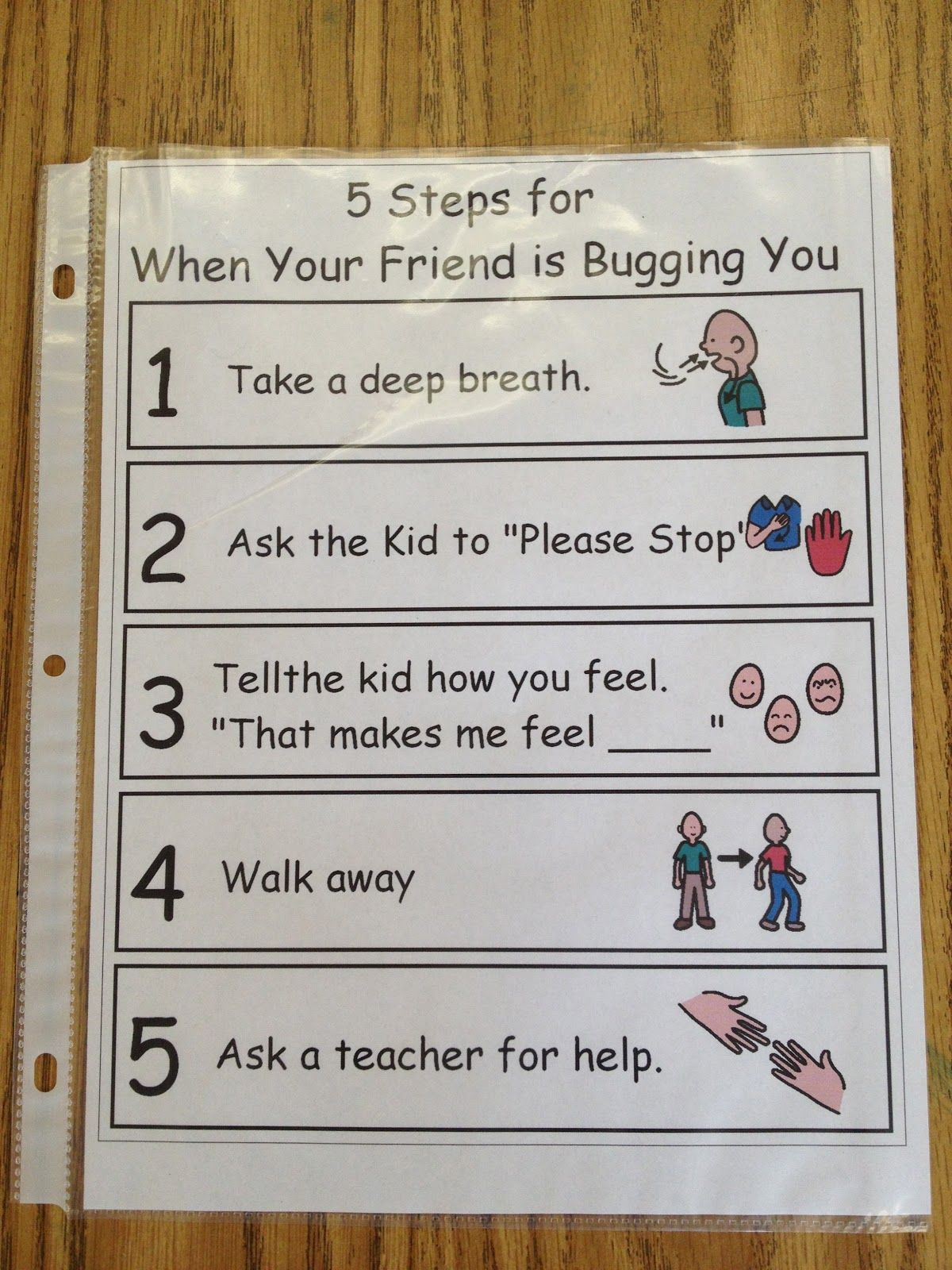 Replace Step Five With Write A Note For Ms Nelson S