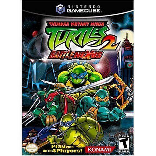 Teenage Mutant Ninja Turtles 2 Battle Nexus Gamecube Konami America Inc Http Www Amazon Ca Dp B0002rq3j8 Ref Cm Sw R Pi Dp Pom5tb1eke33p