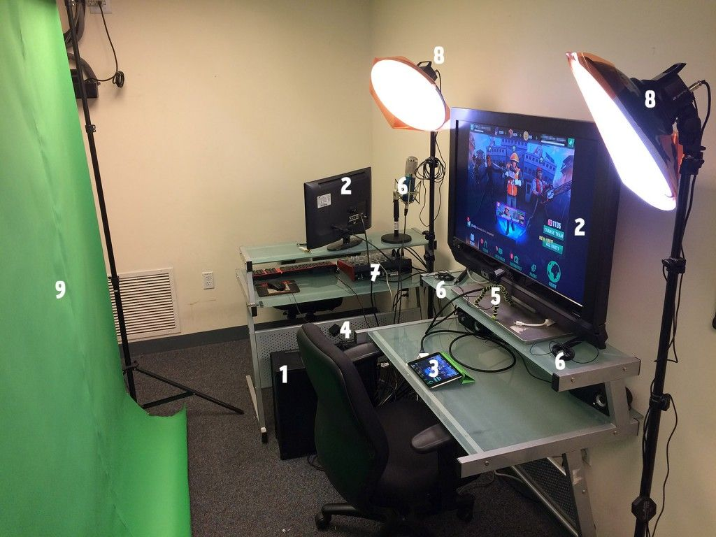 Proletariat's Live Streaming Rig Twitch streaming setup