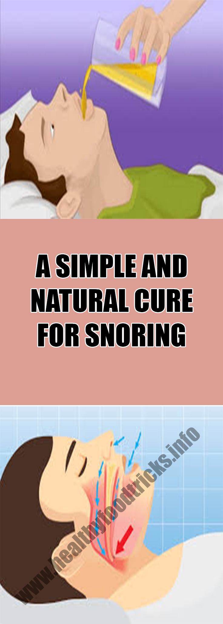 how to avoid snoring naturally