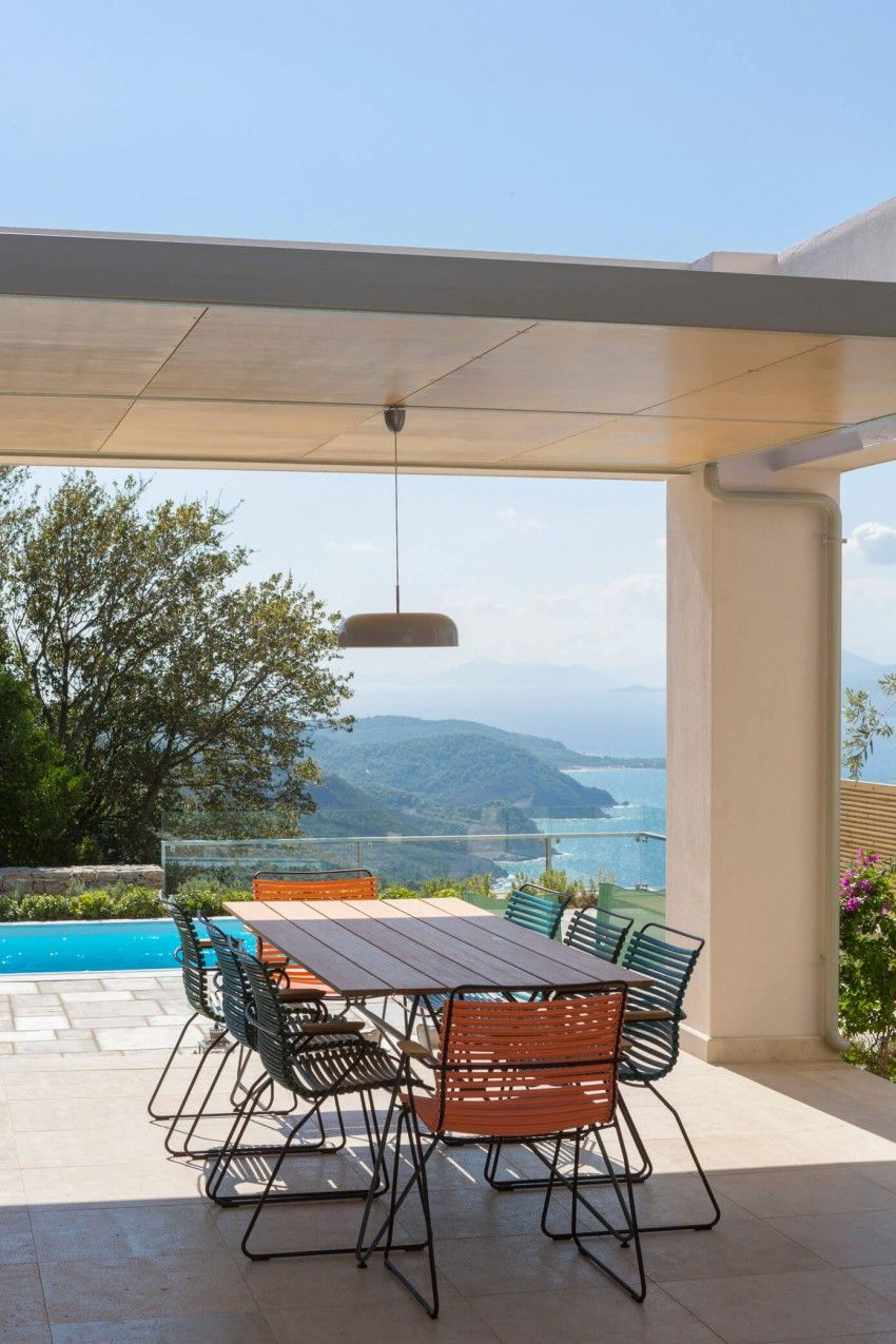 HHH Architects Designs a Private Villa on Skiathos, Greece ... on Hhh Outdoor Living id=80543