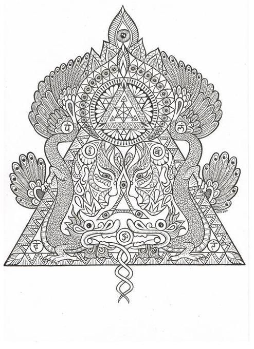 Sacred geometry by Kim Hauselberger, via Behance | sacred geometry ...