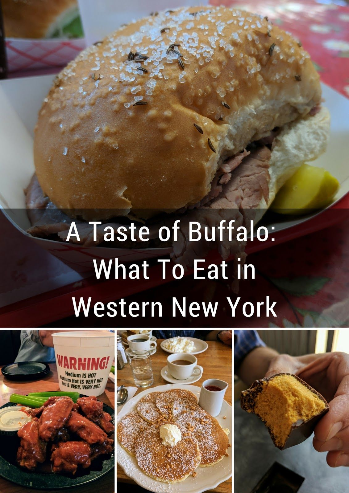 A Taste of Buffalo: What To Eat in Western New York On A Food-Filled Weekend City Break #autumninnewyork
