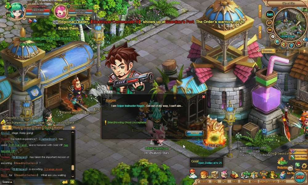 Tales of Laputa is a social game with anime elements, turn