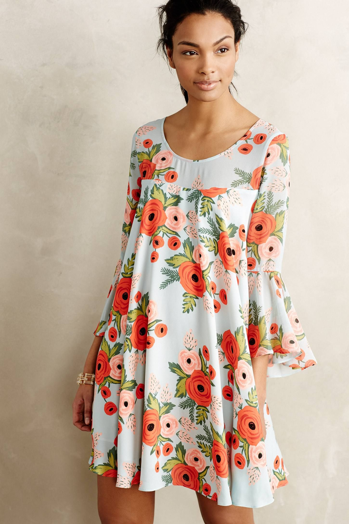 Paper Crown x Rifle Paper Co. dress designed exclusively for Anthropologie. fc1f58b9575e3