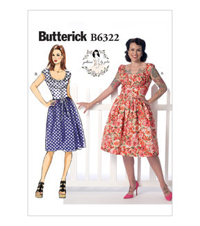 Butterick Misses Dress B6322 Sew With Joann Corset