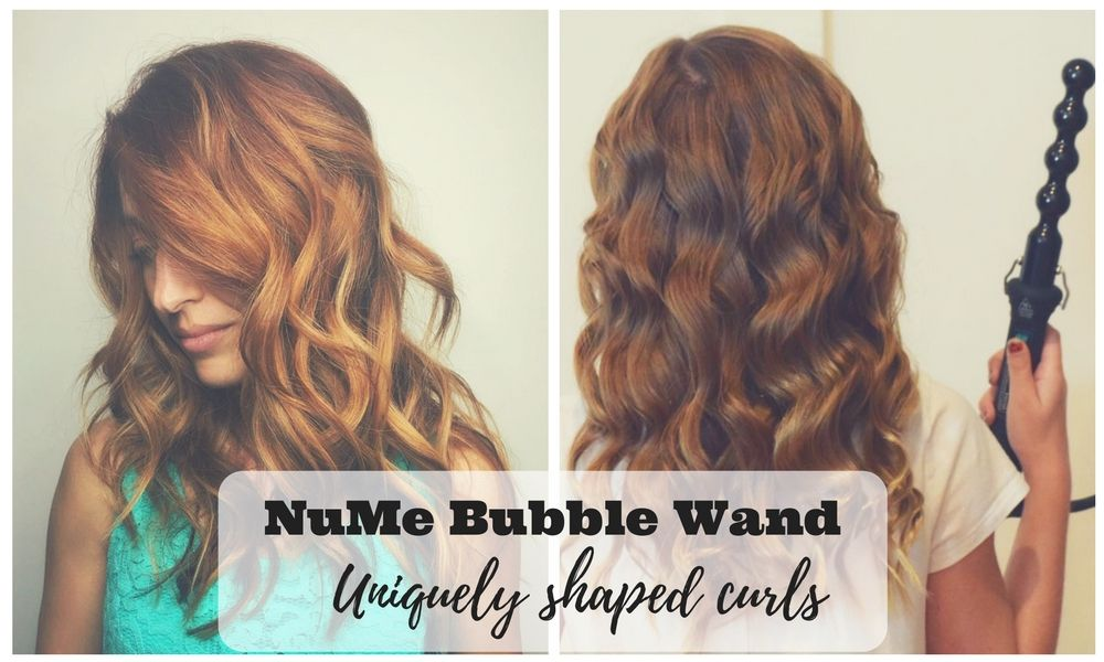 2 Nume Curling Wand Models Reviews Professional Hair Styling Tools Bubble Wand Curls Wand Curls Curling Hair With Wand