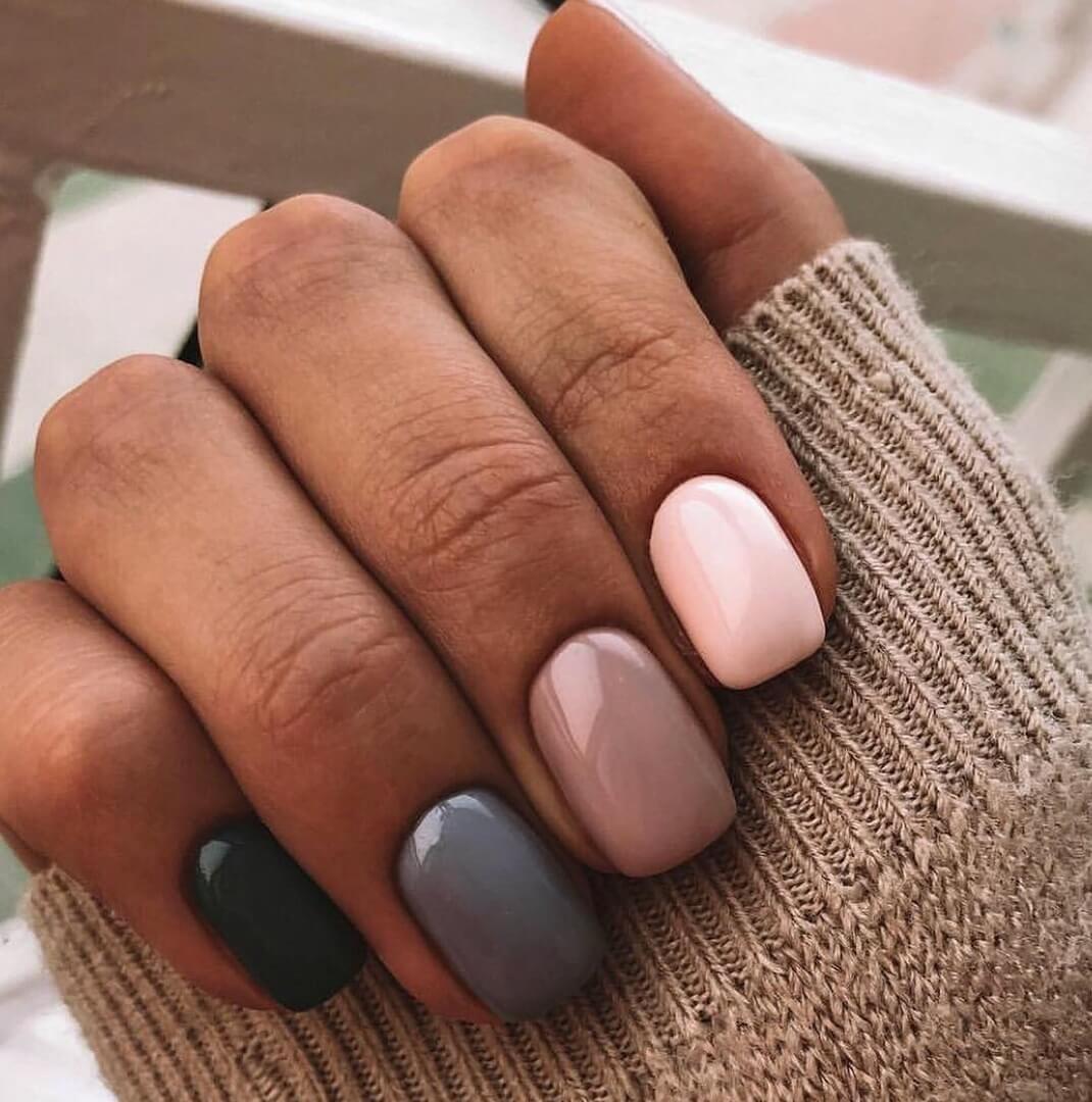 Photo of Nail Art #4556 – Best Nail Art Designs Gallery | BestArtNails.com – Dark green nails – Dasova Blog