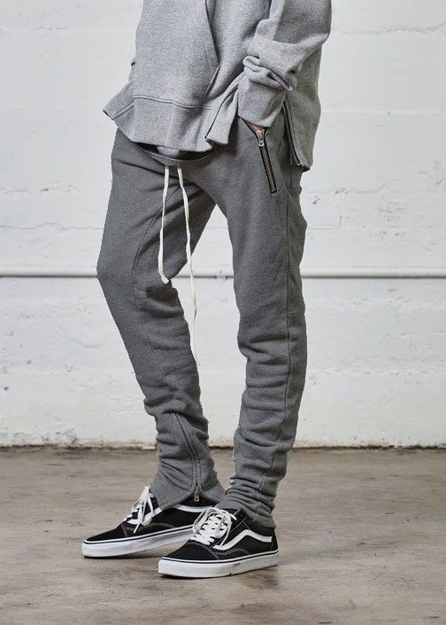 new concept 6f596 7e24a French Terry Cotton Sweats - God Grey (Fear of God Yeezy Rick Owens  Inspired)